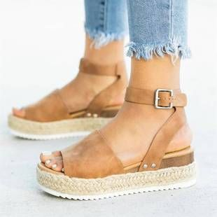 2019 Wedges Shoes For Women High Heels Sandals Summer Shoes Flip Flop Size 35-43