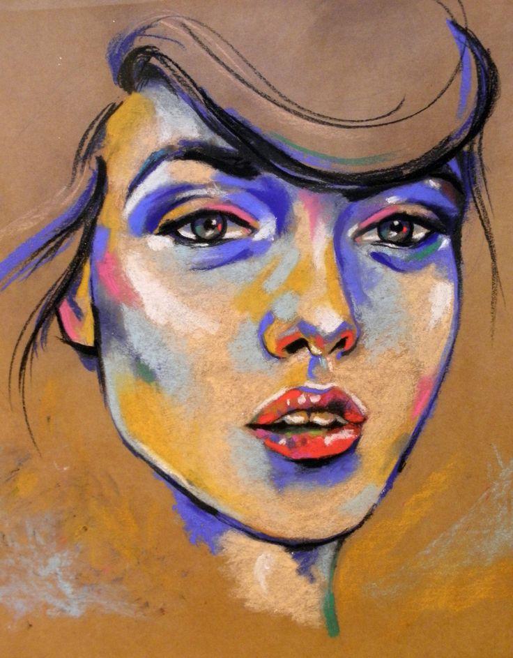 25 unique soft pastel art ideas on pinterest soft pastels indie 20x30soft pastel on toned paper for more of my art ccuart Images