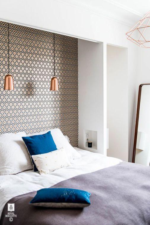 5 diy t tes de lit changez votre d co simplement. Black Bedroom Furniture Sets. Home Design Ideas