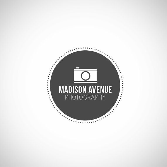 Photographer Logo, Photography Watermark Logo Custom Premade Photography Logo Design
