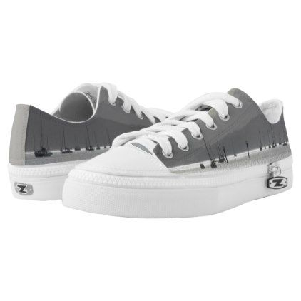 Yachts Low-Top Sneakers | Zazzle.com
