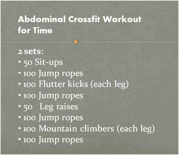 Just like every crossfit workout I've ever done (in or out of the box) it's harder than it looks.  Try it and feel the burn for days after!