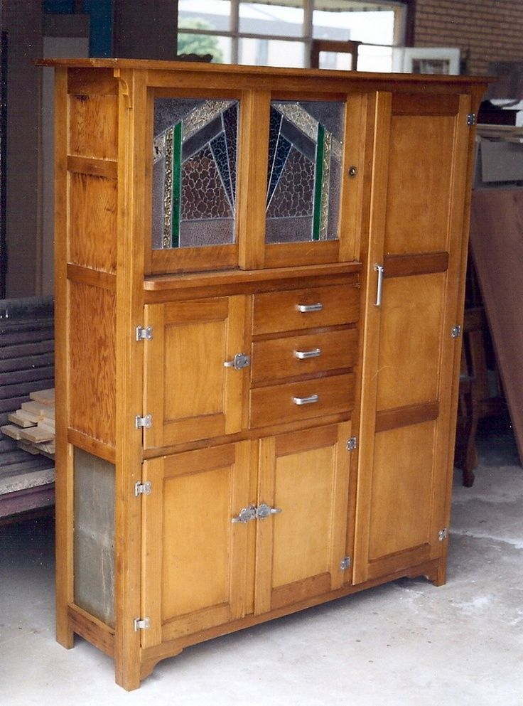 A Nice Art Deco Kitchen Hutch Circa