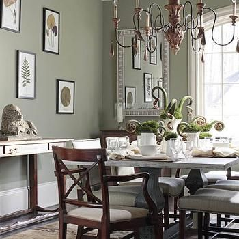 Dining Room Paint Ideas Colors best 25+ benjamin moore green ideas only on pinterest | green