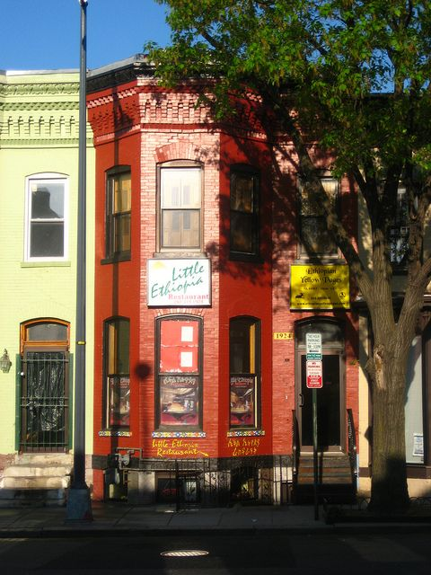 Little Ethiopia On Street At U Washington Dc This Is The South End Of Corridor As A Commercial Hot Spot