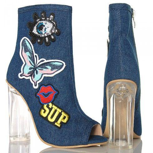 http://buu.pl/pl/botki/6179-botki-ciemny-jeans-na-szklanym-obcasie-kolorowe-naszywki.html