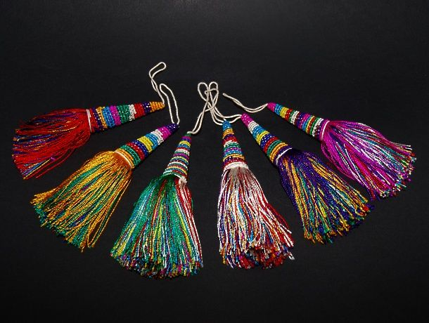 Tibetan Tassel - Kashgar Tribal Artifacts - Life for the Modern Nomad | Handmade Jewellery, ethnic handicrafts, antique furniture