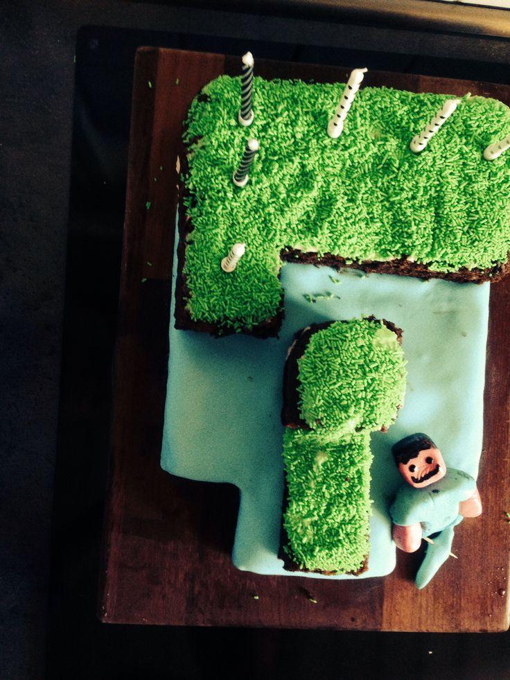 Sebastian's birthday cake 9 years