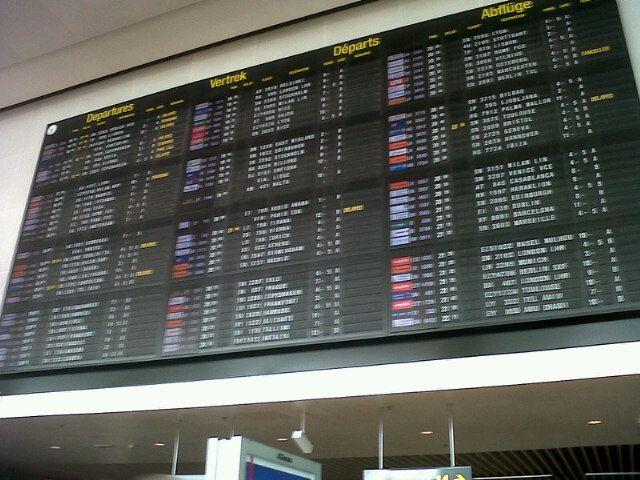 Brussels Airport (BRU) in Zaventem
