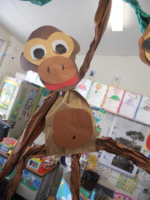 Teacher Bits and Bobs: Rainforest art and writing unit