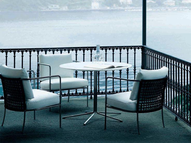 Poltrona da giardino Collezione Café by Living Divani   design Piero Lissoni