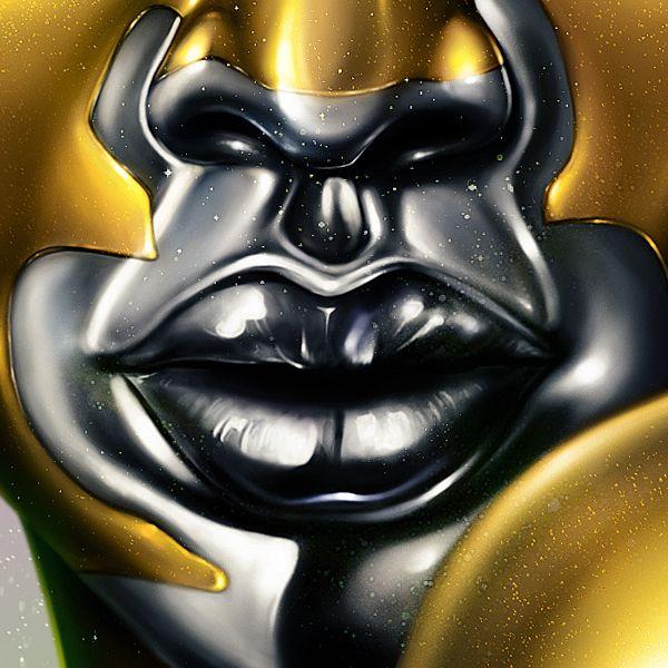Vitiligo Model Winnie Harlow Lips