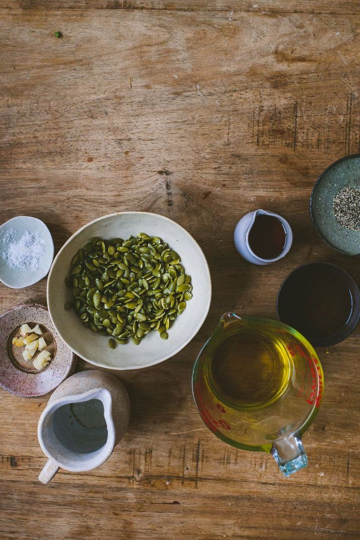 pumpkin seed dressing  Pumpkin Seed Dressing      1 cup pumpkin seeds, soaked overnight     ½ cup water     1 clove garlic     2 tbsp maple syrup     ¼ cup vinegar     ¾ cup olive oil     salt and pepper, to taste