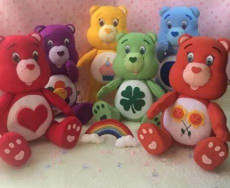 decoração ursinhos carinhosos 6 personagens feltro
