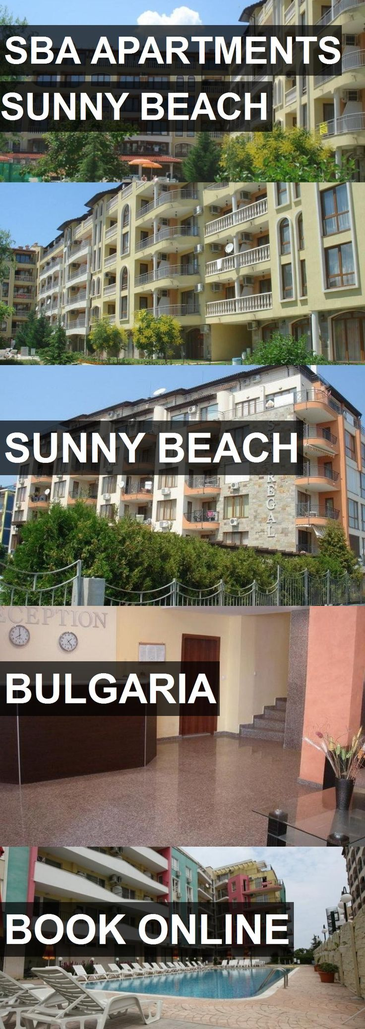 Hotel SBA APARTMENTS SUNNY BEACH in Sunny Beach, Bulgaria. For more information, photos, reviews and best prices please follow the link. #Bulgaria #SunnyBeach #SBAAPARTMENTSSUNNYBEACH #hotel #travel #vacation
