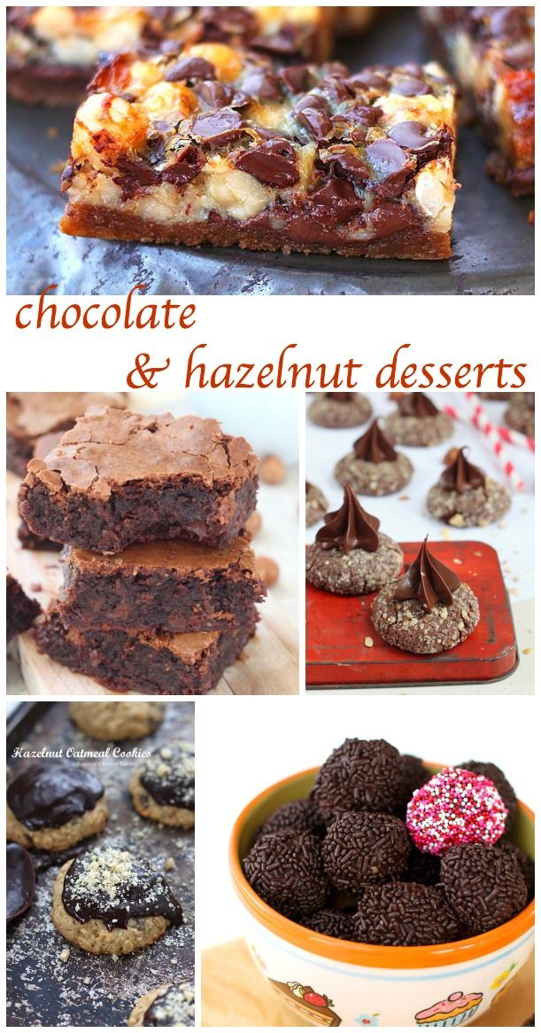 50 chocolate and hazelnut desserts - Roxana's Home Baking