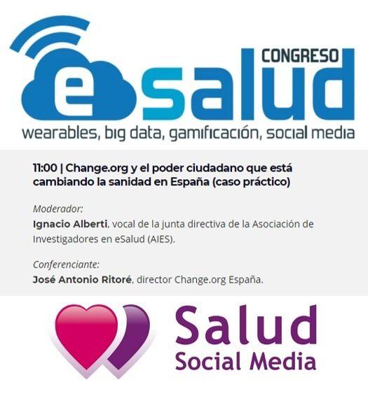 Salud Social Media presente en el II Congreso #eSalud - eHealth Congress | Madrid 2017