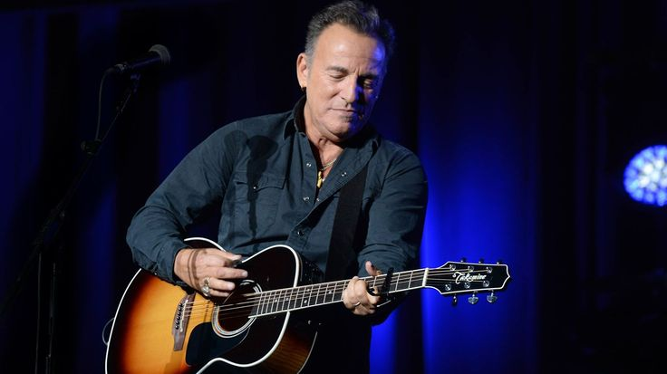 Bruce Springsteen reveals in-progress solo album and details 'The River' tour plans.