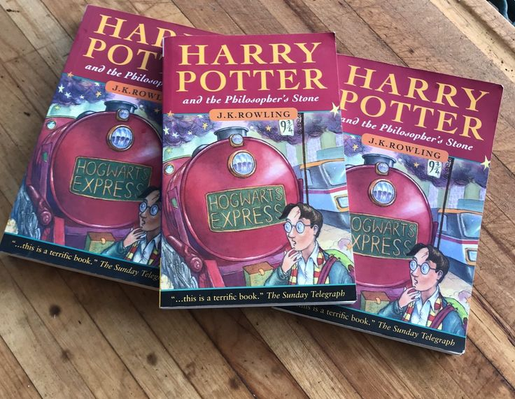Harry Potter And The Philosopher's Stone JK Rowling Lot Of 3                      – LyndiLaneVintage