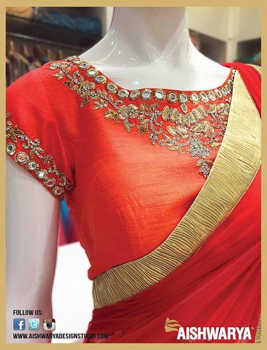 Sneak-peak of this gorgeous ethnic wear from the exclusive collection of #AishwaryaDesignStudio Exclusive Ethnic Women's Wear Online : http://www.aishwaryadesignstudio.com/