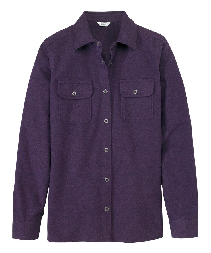 Women's Heather Chamois Shirt by WOOLRICH® The Original Outdoor Clothing Company