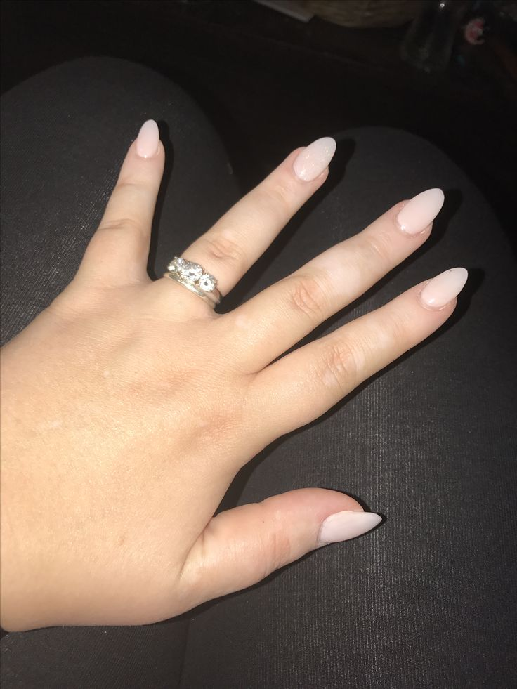 Best 25 Long Oval Nails Ideas On Pinterest Long Round