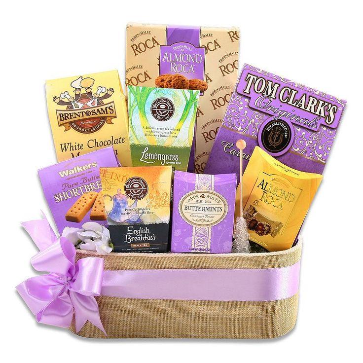 Alder Creek Springtime Tea Gift Basket, Multicolor