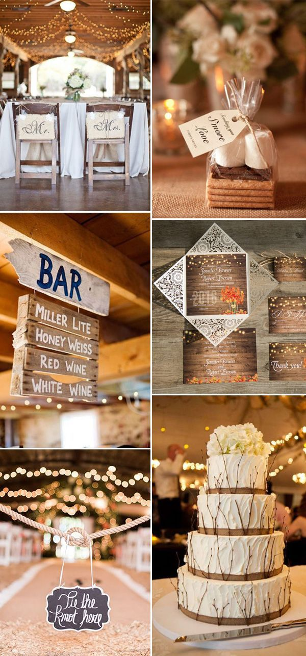 ideas for rustic wedding reception%0A    Great Ways to Make      Rustic Weddings More Elegant and Chic