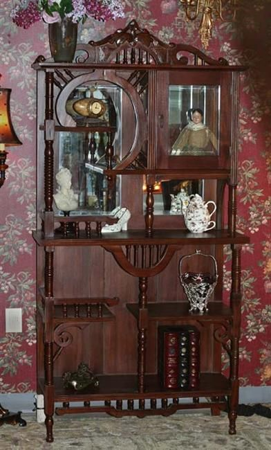 Ordinaire Antique Style Curio From Victorian Trading Co.
