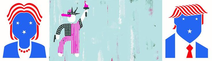 """Aus aktuellem Anlass. The Campaign: Making of a President 1960 + 2016   Museum THE KENNEDYS   20.10.-08.01.2017 by Camera Work präsentiert bis zum 08. Januar 2017die Sonderausstellung """"The Campaign: Making of a President 1960 & 2016"""" im Museum THE KENNEDYS mit Arbeiten des Künstlers Christoph Niemann. Pünktlich zum diesjährigen Präsidentschaftswahlkampf in den USA zeigt die Ausstellung eindrucksvoll, wie  ART at Berlin ART   Kunst   Galerie   Galerieführer   Auss"""