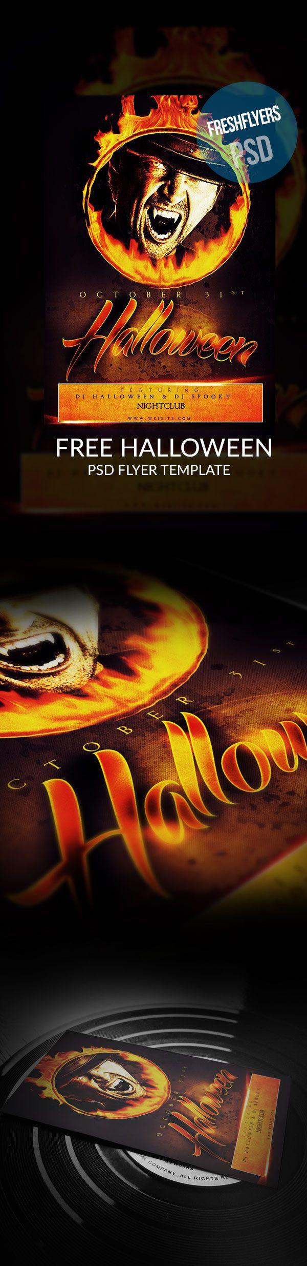 16 Best Free Halloween Flyer Templates