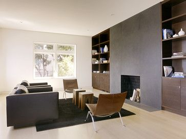 Love the fireplace...What is the paint and color used for the fireplace wall surround? - Houzz