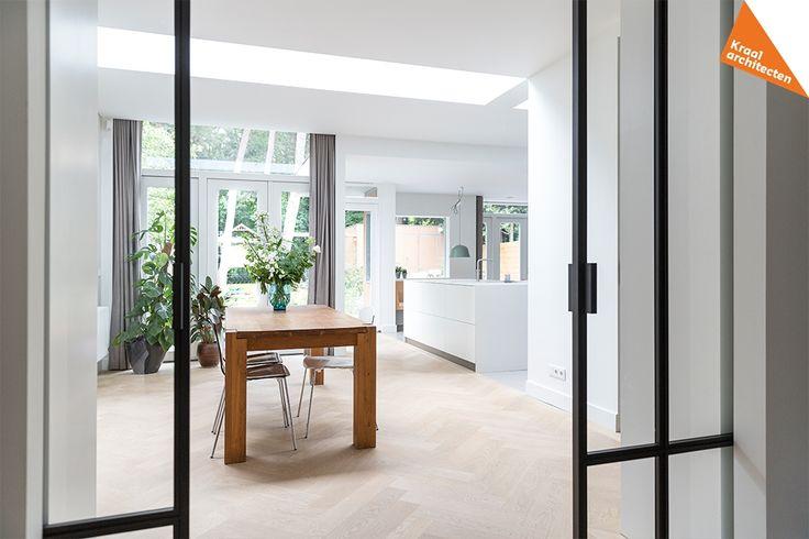 Interieurplan uitbreiding woning, Zeist bij Kraal architecten. Kraal ontwerpt het allemaal! Bekijk ons portfolio online of bel: 030-2239677.