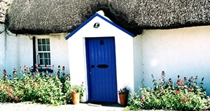 Pretty cottages in the Irish countryside