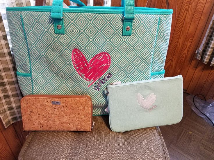 I'm ready for 2017 Conference Cindy Tote $72 All About the Benjamin's wallet $48 Rubie Mini $22