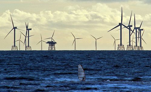 The World's Largest Offshore Wind Farm Completed in the UK. The Walney Wind Farm comprises 102 turbines and has a generation capacity of 367 MW