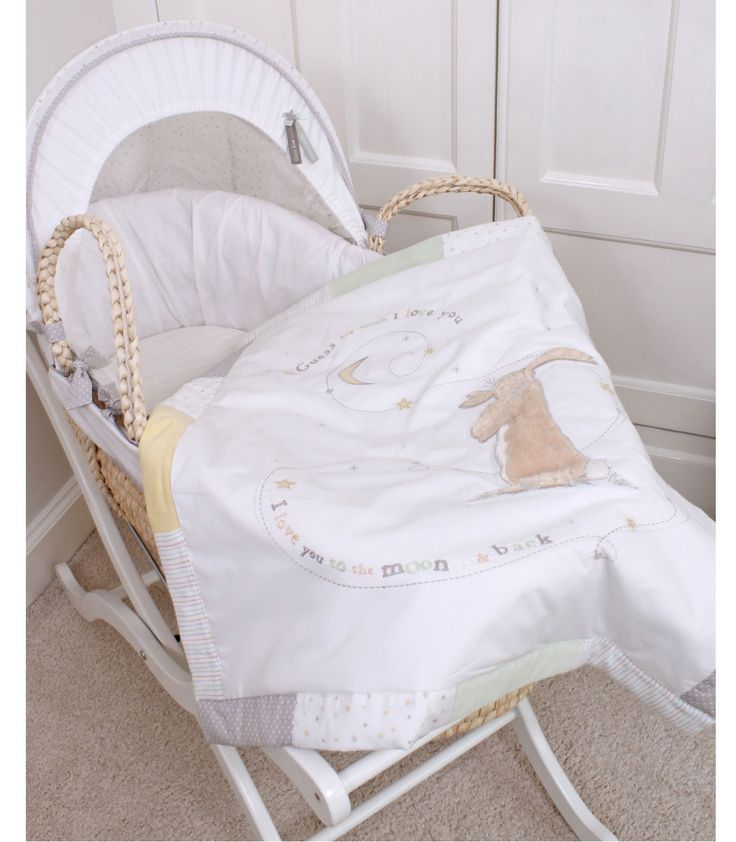 Guess How Much I Love You - Moses Basket | Kiddicare