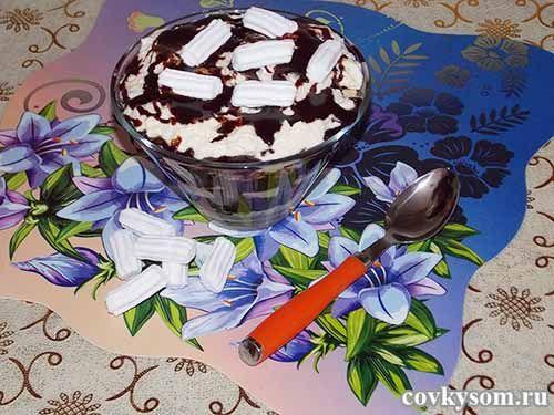 Десерт из манной каши. Рецепт с пошаговыми фото.