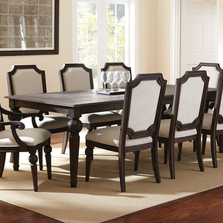 Crestwood Dining Room Furniture 9 Piece Set