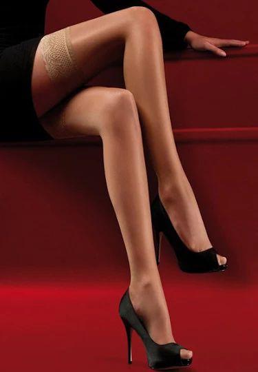 SFQ Calzessa - Snyggt klädda ben / Strumpor, Nylonstrumpor, Stay-up, Strumpbyxor, Höfthållare