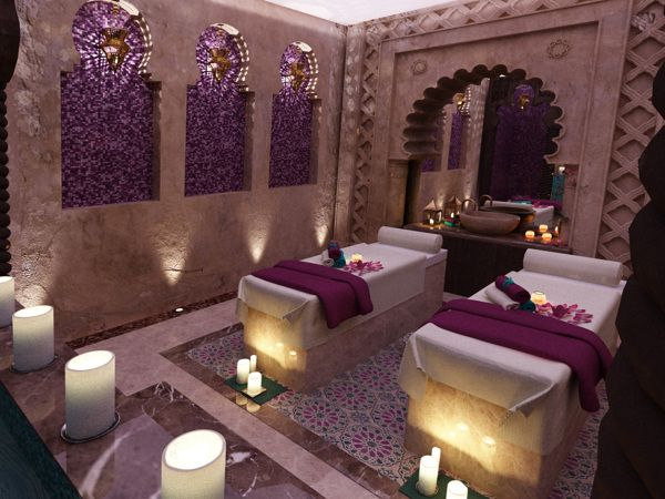 moroccan bathroom | Moroccan Bath (Dubai-UAE) on Behance.  Not for MY spa, but love the design.