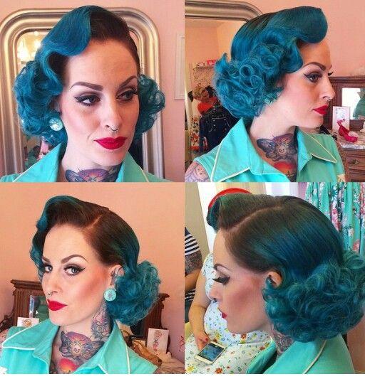 Hair by Miss Rockabilly Ruby