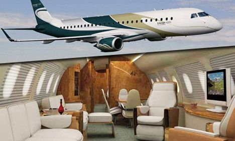Embraer Lineage 1000 Price, Interior, Business Jet Pictures