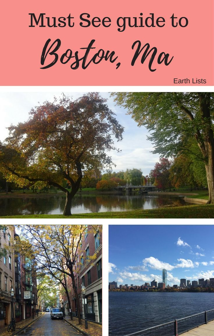 Must See Guide And Things To Do In Boston Massachusetts New