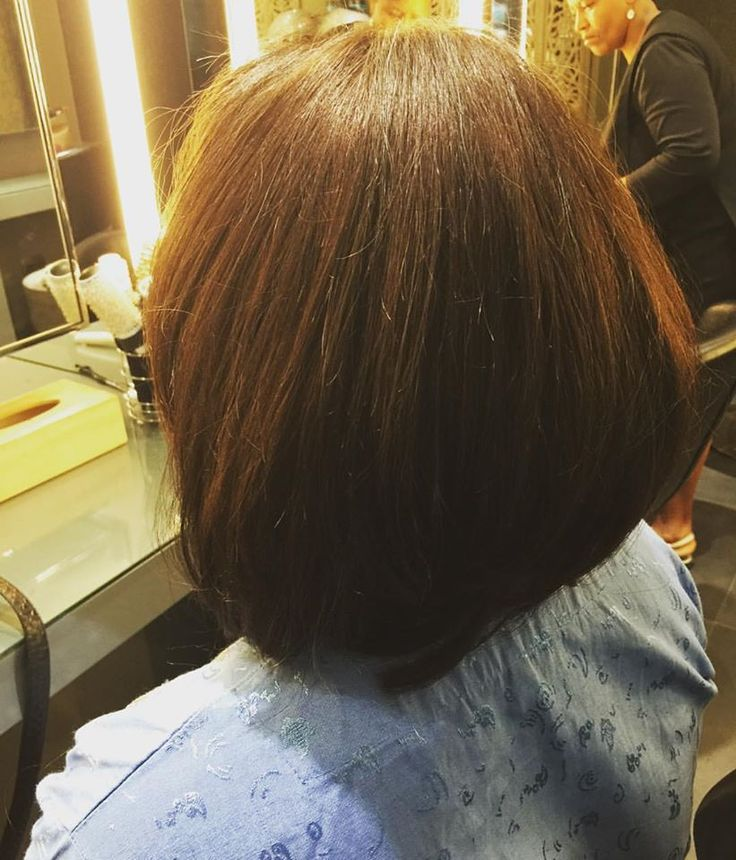 Weave application and short haircut for a new Midori client. Welcome to Midori Dida!