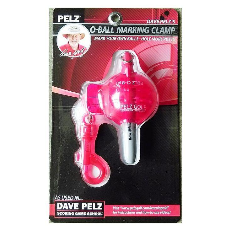 Dave Pelz Golf O-Ball Marking Clamp, Multicolor