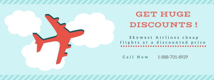 Skywest Airlines Airfare sale season has arrived . call 1 888 701 8929 and grabskywest airlines reservations.at a discounted price.