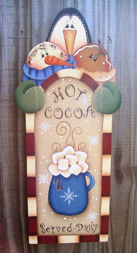 Hot Cocoa Sign by stephskeepsakes