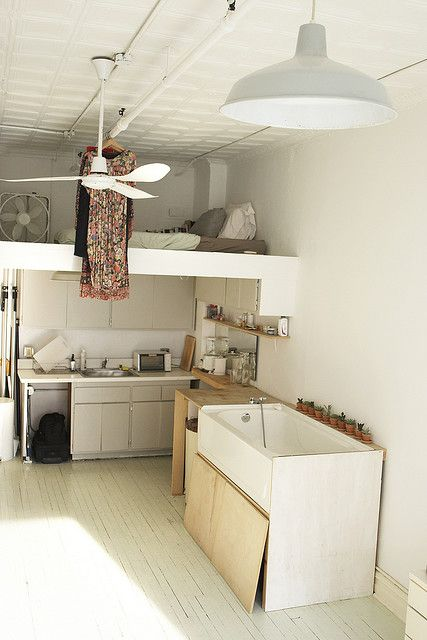 loft bed: Studios, Bath Tubs, 16 House, Loft Beds