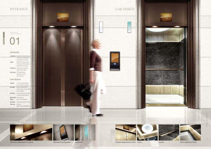 512 best Lift lobby images on Pinterest | Desk, Elevator ...